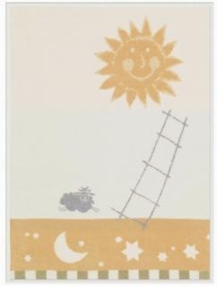 Biederlack Baby-Kuscheldecke Bio Cotton Dessin: Sunny 75 x 100 cm