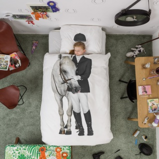 Snurk Kinder-Bettwäsche Amazone 135 x 200 cm 100% Bqumwolle