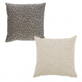 Scantex Kissenhülle Lillie 40 x 40 cm aus 100% Baumwolle mit RV