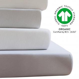 ESTELLA Jersey BIO-Spannbetttuch 6000 aus 100% Baumwolle