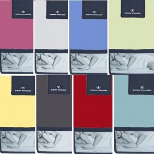 Tom Tailor Spannbettlaken, 90 -100/200 cm, 77788-040 Jersey, 28 Farben