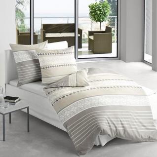 Irisette Biber Bettwäsche Davos 8520-11 beige weich und wärmend