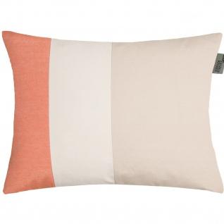 Schöner Wohnen Nova Kissenhülle 38 x 58 cm orange Baumwollmischung mit RV