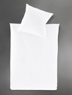 Irisette Mako-Satin-Bettwäsche Paris 8000 Farbe 10-weiss - Vorschau 2