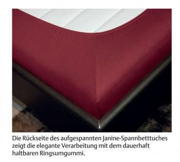 Janine Spannbetttuch Comfort Elastic 100 x 200 cm für Matratzenhöhe bis zu 32 cm - Vorschau 4