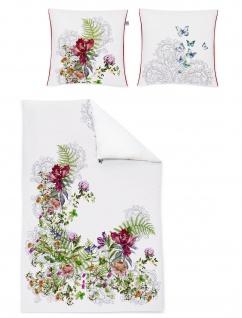 Irisette Mako-Satin Bettwäsche Juwel-K 8891-90 Digitaldruck Wendeoptik