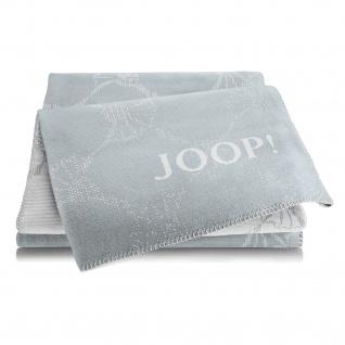 JOOP! Cornflowers Double Wohndecke Taube-Silber 150 cm x 200 cm Baumwollmischung