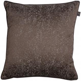 SG home Kissenhülle Elegante in Velouroptik mit feinen Mosaik Muster Polyester mit RV - Vorschau 4