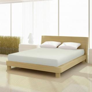 Mr. Sandman Elastan Basic Jersey Spannbetttuch elfenbein auch für Wasserbetten