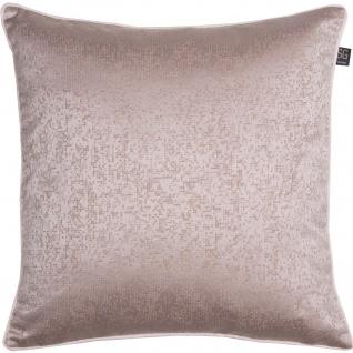 SG home Kissenhülle Elegante in Velouroptik mit feinen Mosaik Muster Polyester mit RV - Vorschau 3