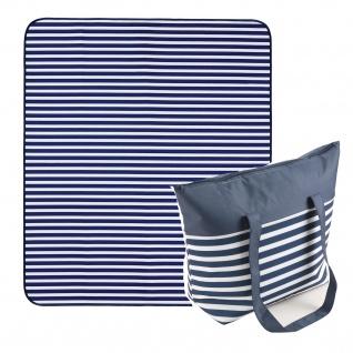 Biederlack Strand Summer Bag und Stranddecke 120 x 130 cm