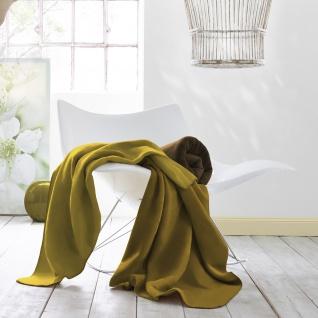 Biederlack Decke Duo Cotton Trend 150 x 200 cm nutria