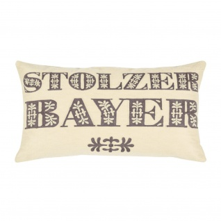 pad concept Kissenhülle Bavarian 30 x 50 cm 100% Baumwolle natural
