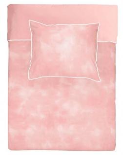 WALRA Bettwäsche Baumwolle Renforcé Cloudy Days rosa - Vorschau 2