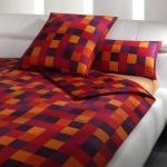 JOOP! Bettwäsche Mosaik 4003-1 Rot