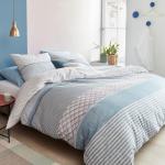 Beddinghouse Bettwäsche Lux Soft Pink gestreift 100 % Baumwolle helle Pastellfarben