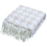 done.® Wohndecke MIKA Beige y 150 x 200 cm aus Baumwollmischung