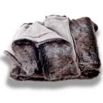 Eskimo Webpelz Decke Chinchila meliert 150 x 200 cm
