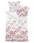 Dormisette Mako-Satin Bettwäsche 7136-021-rosa French Vanilla 100% Baumwolle