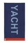 Strandtuch XXL Saunatuch YACHT BLUE 100x180cm 100% Baumwolle von Seahorse