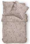 Janine Mako-Satin Bettwäsche Messina mandel 43073-07 aus 100% Baumwolle