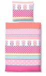 Biberna Biber Kinderbettwäsche 7230-173 rosa
