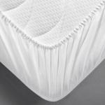 Dormisette 2-lagiges-Premium Spannbetttuch Q430 atmungsaktiv und wasserdicht