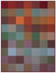 Biederlack Decke Colour-Woven 150 x 200 cm Colourmix 100% Baumwolle