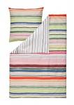 Estella Mako-Satin Wendebettwäsche Fun Stripes multicolor