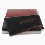 JOOP! Ombre Wohndecke 150 cm x 200 cm rouge-sand Baumwollmischung