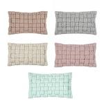 pad Kissenhülle Løkken 30 x 50 cm in verschiedene Farben modern grob geflochtenen