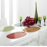 Pichler 4er-Set Tischsets Samba 48x33 cm oval, in 13 Farben