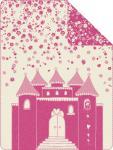 s.Oliver Junior Jacquard Decke 0521-50 rosa 150 x 200 cm