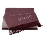 JOOP! Wolle-Kaschmir Plaid Fine Doubleface Rouge-Sand 130 x 180 cm exklusiv