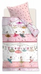 Beddinghouse Bettwäsche KIDS DANCING PINK Pink 100 x 135 cm 100% Baumwolle