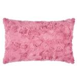 Pad Kissenhülle Bardot Felloptik pink 30 x 50 cm mit RV modern exklusiv