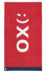 Seahorse XO Strandlaken - 100 x 180 cm - rot 100% Baumwolle