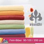 Spannbetttuch Fein-Biber Merkur von Irisette 100 x 200 cm