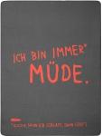 Biederlack Wohndecke Young & Fancy 150 x 200 cm Koralle-Schiefer Baumwollmischgewebe