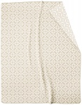 Biederlack Wohndecke Mosaic natur-beige 715104 | Mischgewebe | 150 x 200 cm