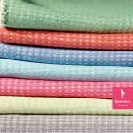 Biederlack leichte uni Decke WANDERLUST 150 x 180 cm in 5 Farben Baumwollmischung