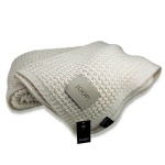 JOOP! Strickplaid KNIT Natur 138 x 180 cm