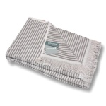 Pad Duschtuch URBAN 70 x 140 cm taupe | 100% Baumwolle -Frottee