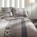 JOOP! Bettwäsche Ornament Stripes 4022-77 beige elegant klassisch