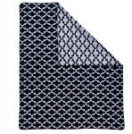 done.® Wohndecke Milano Black-Silver 150 x 200 cm aus Baumwollmischung