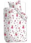 Beddinghouse Kinderbettwäsche KIDS Birthday Fairy Pink 135x200 | 135 x 200 cm | 100% Baumwolle