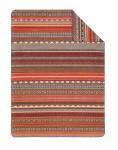 Ibena Jacquard Decke Sorrento 1490-280, 150 x 200 cm Baumwollmischung bunt