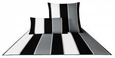 JOOP! Bettwäsche Lines 4055-0 schwarz /weiß
