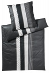 JOOP! Bettwäsche Cornflower Stripes | 99 deep coal Stone elegant exklusiv