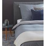 Schöner Wohnen Bettwäsche PINA grau 100% Baumwolle Washed Cotton